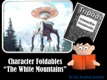 """Tripods """"The White Mountains"""" Character Foldables for Inte"""