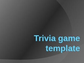 Trivia Game Template