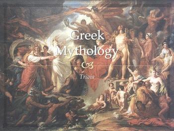 Trivia: Greek Mythology (50 Slides)