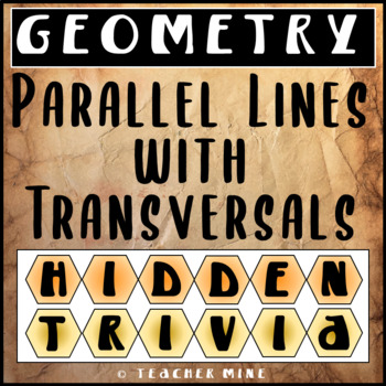 Parallel Lines Hidden Trivia