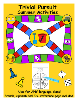 Trivial Pursuit Game – Summer Holiday Activities (**Stand
