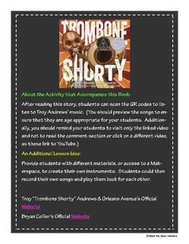 """Trombone Shorty"" - GA Picture Book Award Nominee 2016-2017"