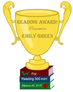 Trophy Award (Editable)
