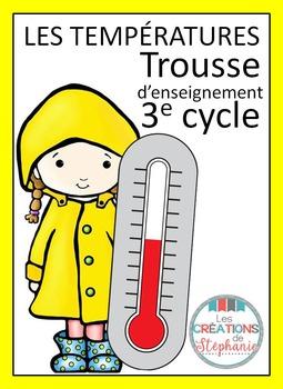 Trousse d'enseignement : Les températures