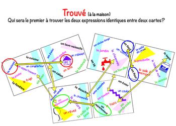 """""""Trouvé"""" (le vocabulaire de la maison)  FRENCH"""
