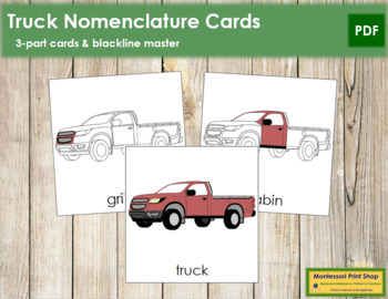 Truck Nomenclature Cards