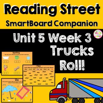 Trucks Roll! SmartBoard Companion Kindergarten