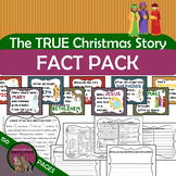 True CHRISTmas Story FACT PACK Reading Passages Writing Re
