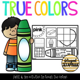 True Colors {Practice Pages}