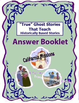 True Ghost Stories That Teach Answer Book