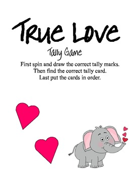 True Love Tally Game