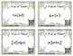 True or False Equations Task Cards: Grade 1 CC: Operations