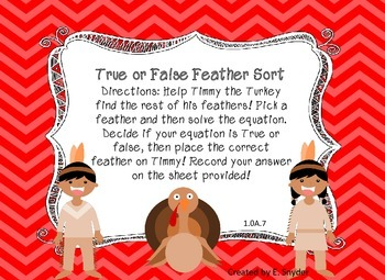 True or False Feather Sort