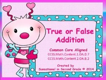 True or False Multiplication & Addition (Bundled)