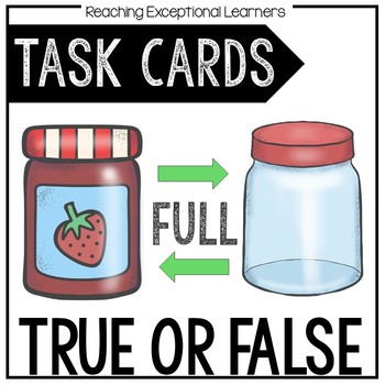 True or False Task Card Set