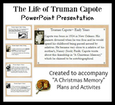 Truman Capote Life and Writing PowerPoint Presentation