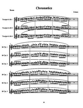 Trumpet Chromatics
