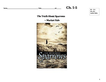 Truth About Sparrows by Marian Hale Novel Unit