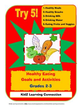 Healthy Eating/Nutrition Bundle Grades 2-3