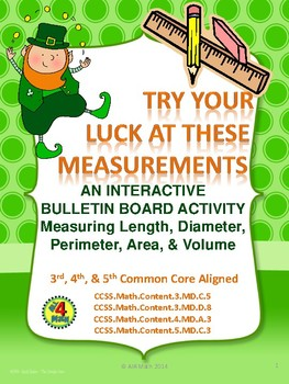 Try Your Luck At These Measurements - St. Patrick's Day Bu