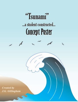 Tsunami: A Student Constructed Concept Poster