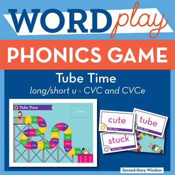Tube Time Short u / CVCe u Phonics Game