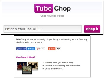 TubeChop.com Tutorial Chop a YouTube Video