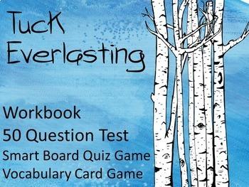 Tuck Everlasting Novel Study Bundle: Worksheets, Quizzes,T