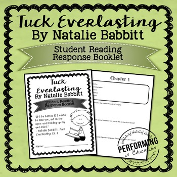 Tuck Everlasting Printable Student Booklet