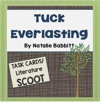 Tuck Everlasting Task Card Comprehension Quiz