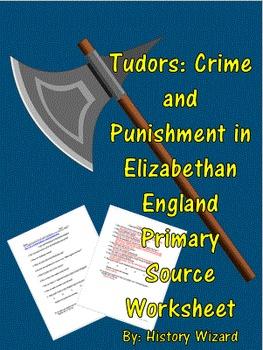 Tudors: Crime and Punishment in Elizabethan England Primar