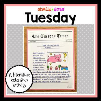 Tuesday - Literature Extension Activity