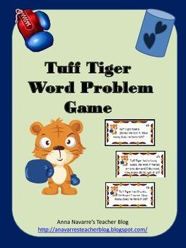 Tuff Tiger Word Problem Game