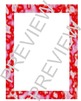 Turbulence Border Frames and Matching Background Scrapbook