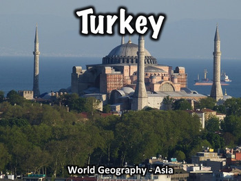 Turkey Geography and History