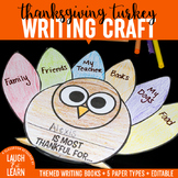Thanksgiving Turkey Writing Craft