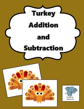 Turkey Addition and Subtraction to 18