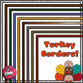 Turkey Borders and Clip Art