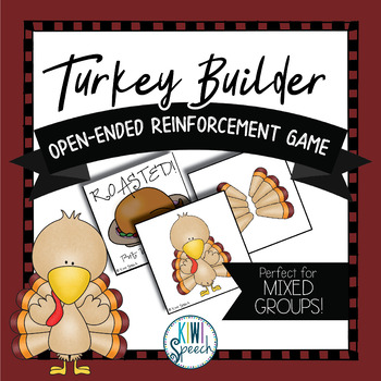 Turkey Builder: Open Ended Reinforcement Game: Great for S
