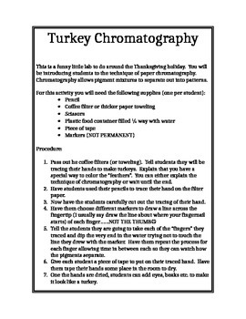 Turkey Chromatography