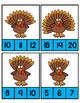 Turkey Clip Cards
