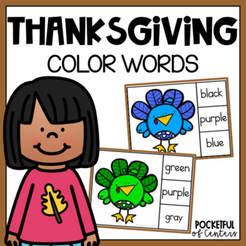 Turkey Color Words