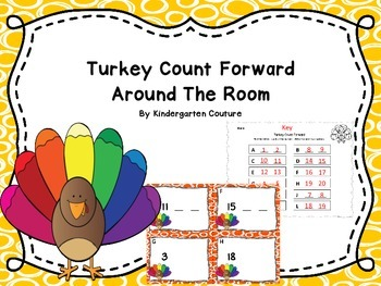 Turkey Count Forward Around The Room