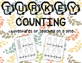 Turkey Counting Game {Basic Addition Facts!}
