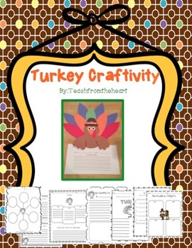 Turkey Craftivity and Printables