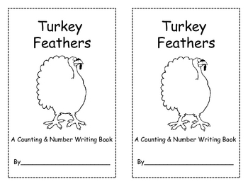 Turkey Feather Counting and Number Writing