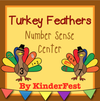 Turkey Feathers - Number Sense Center