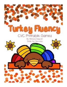 Turkey Fluency { Short Vowel Games}