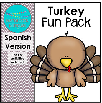 Turkey Fun SPANISH PACK!