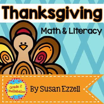 Thanksgiving Math & Literacy Connections - Comprehension,